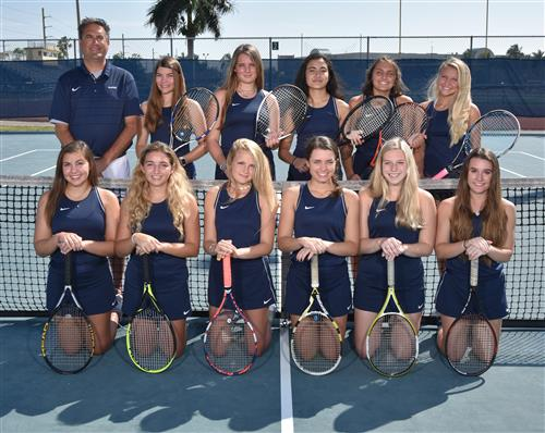 2019 NHS Girls Tennis Team