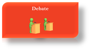Click here to learn more about the Debate program.
