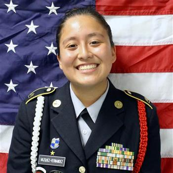 C/SFC Battalion Adjutant Officer Paula Vazquez
