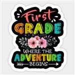 First Grade Where the Adventure Begins