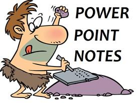 POWER POINT NOTES