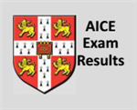 AICE EXAM RESULTS