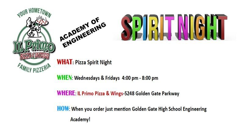 Academy of Engineering Spirit Night