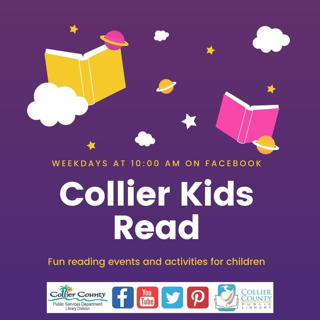 Collier Kids Read logo