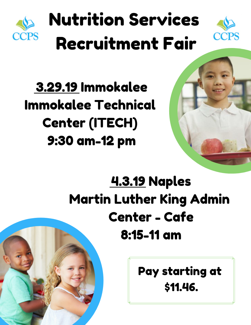Nutrition Services Recruitment Fairs