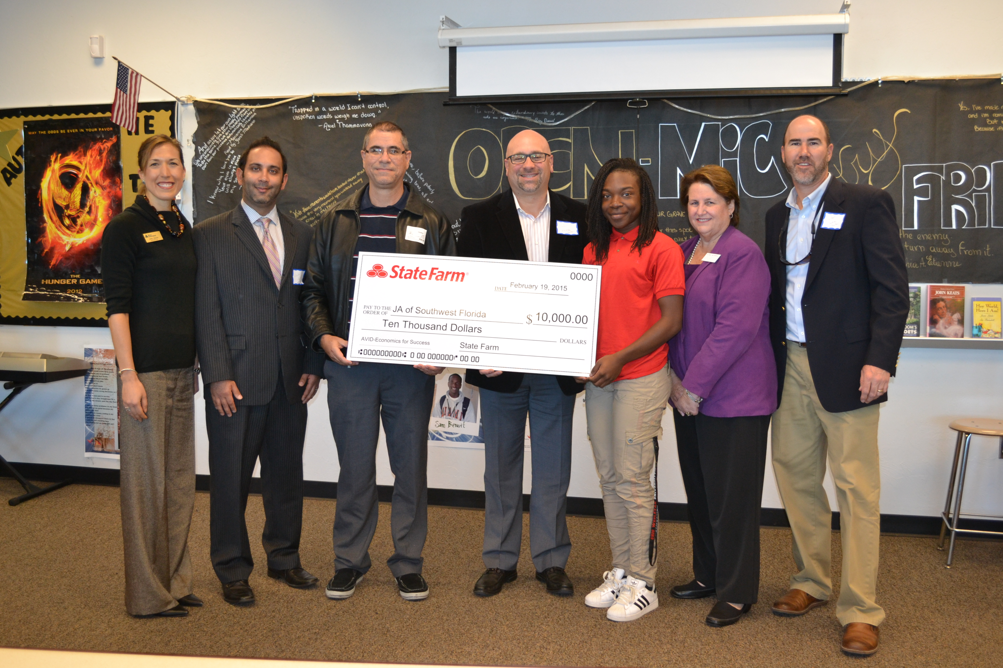 State Farm Grant Supports Junior Achievement Program
