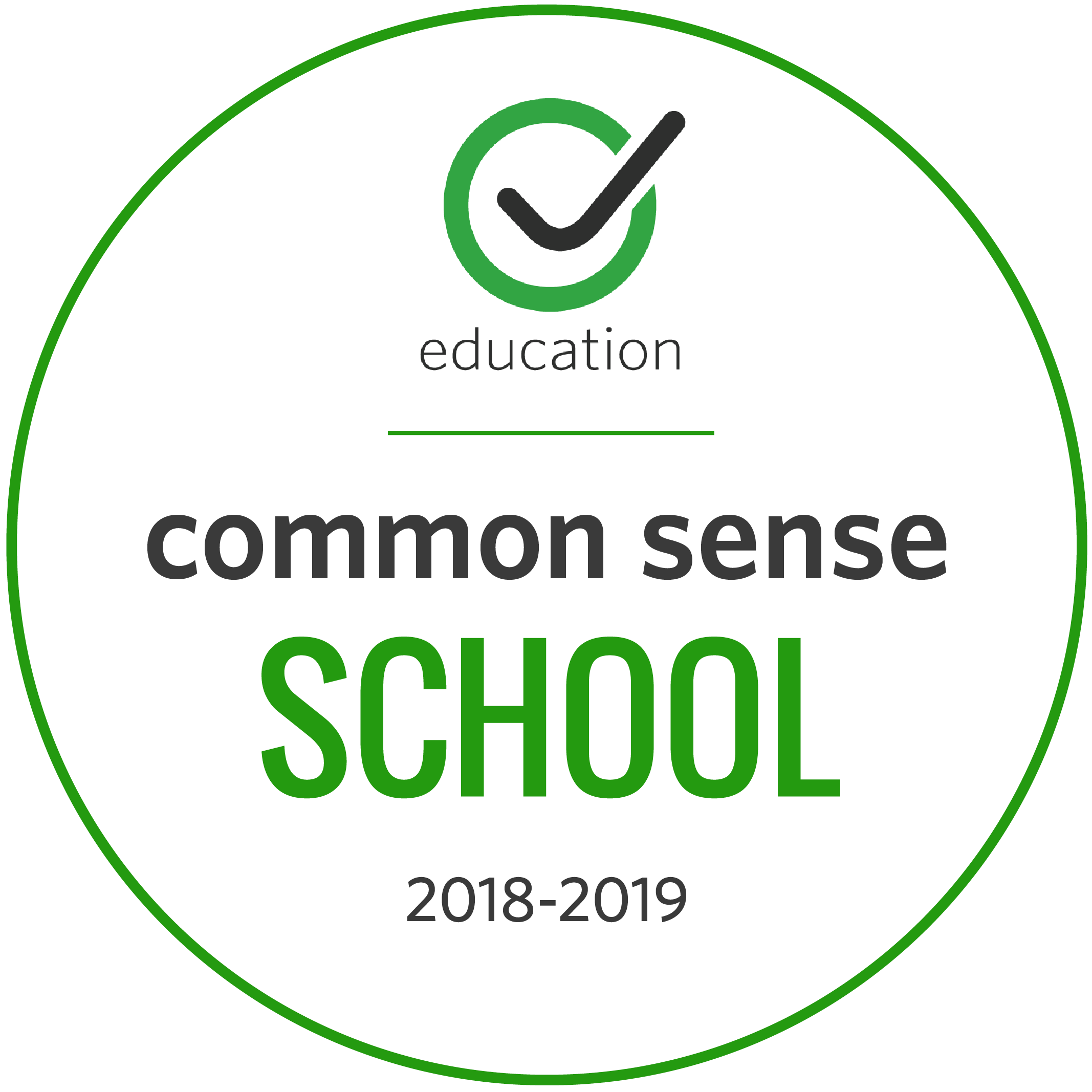 Common Sense School 2018-2019
