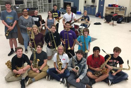 2017 NHS Jazz Band