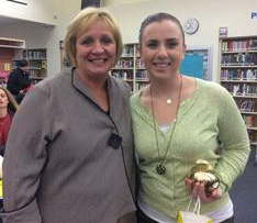 NHS Golden Apple Winner, Mckenzie Morton