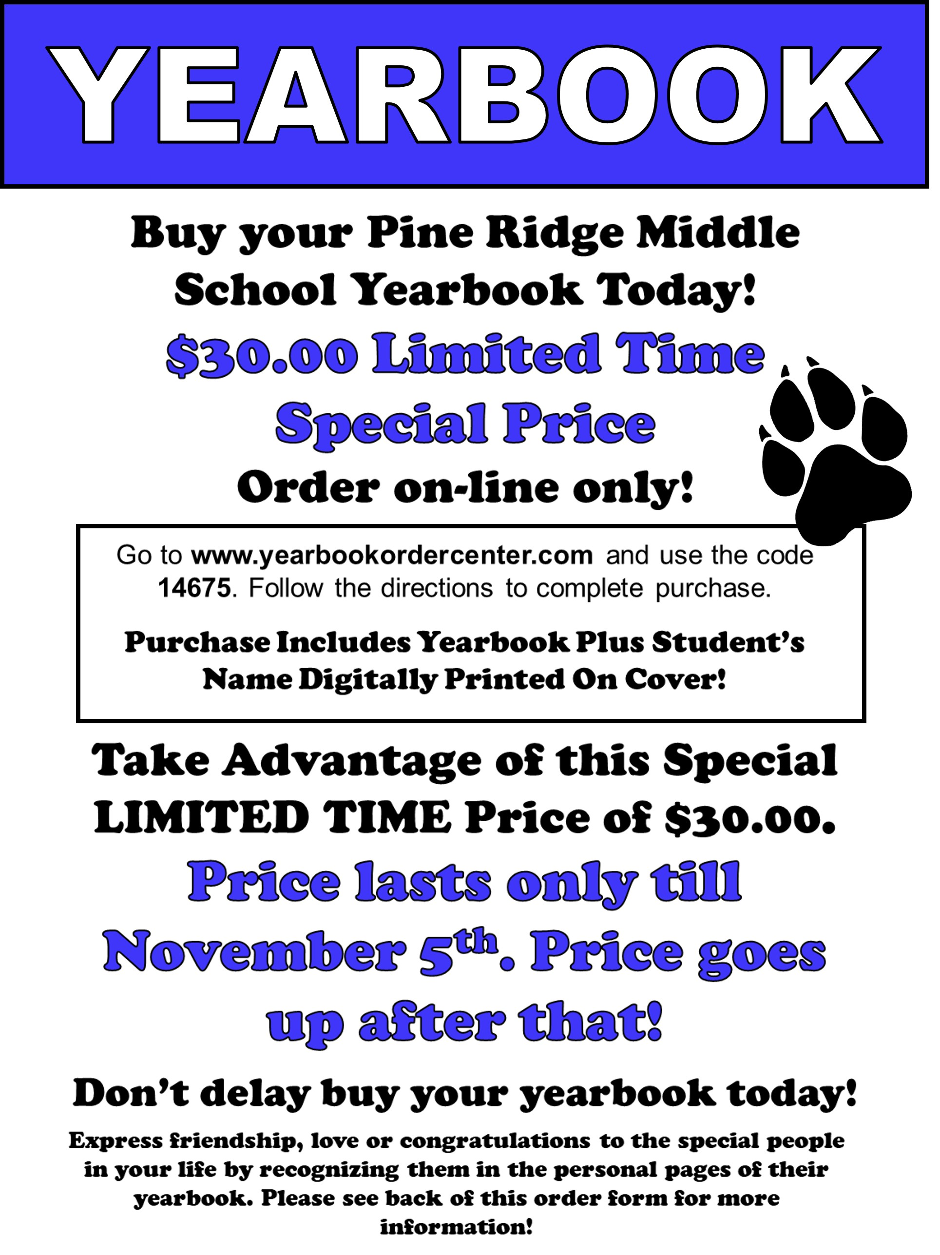 Pine Ridge Middle Prms Homepage