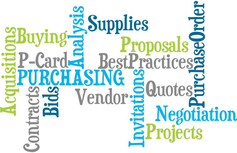 financial services purchasing department